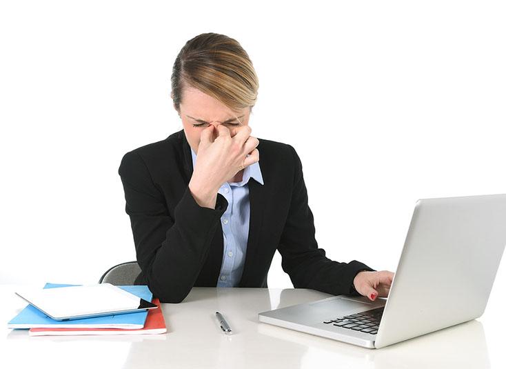 Компьютерный зрительный синдром: клиника, лечение, профилактика