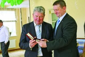 Вручение ордена «Гордость медицины» В. Н. Скопиченко