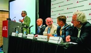 New Orleans, LA - ADA 2016 -  Presenters during a press conferen