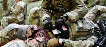 Антибиотикотерапия при огнестрельной боевой травме: ретроспективное обсервационное исследование
